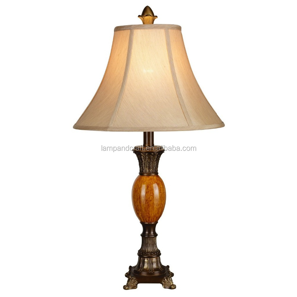 lamp with linen colored fabric lamp shade for hotel buy traditonal. Black Bedroom Furniture Sets. Home Design Ideas