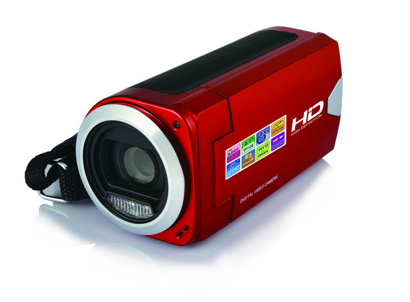 High quality Digital Video Camcorder with 8MP,2.7'' TFT LCD,and CE.RoHS, FCC approvals for HDV327A