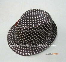 children gangster vintage fedora hats