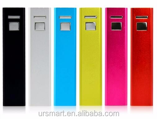 New style portable charger,mobile phone charger 2600mah,power banks 2600mah