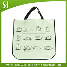 shopping bag non woven round