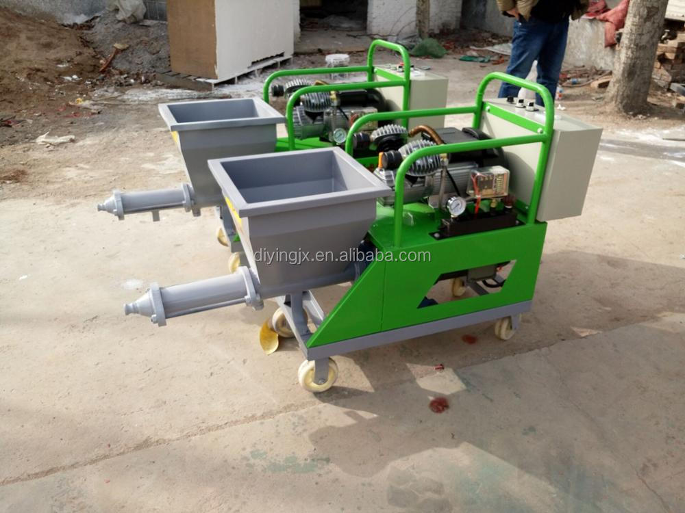 10m Cement Mortar Spraying Machine / Cement Mortar Plastering Machine/Rendering Machine For Wall