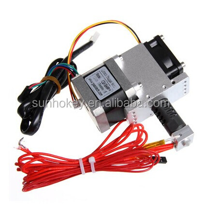 3d printer j head hotend kit with fan and stepper motor for Print head stepper motor