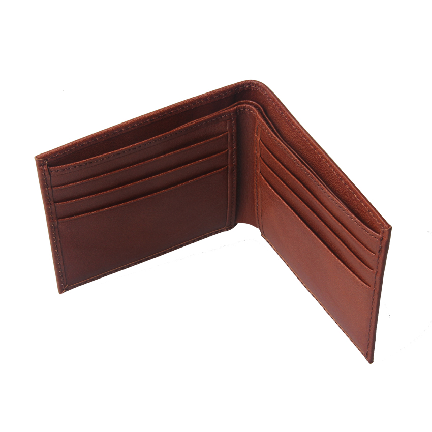 Latest Design Great Quality genuine leather rfid wallet