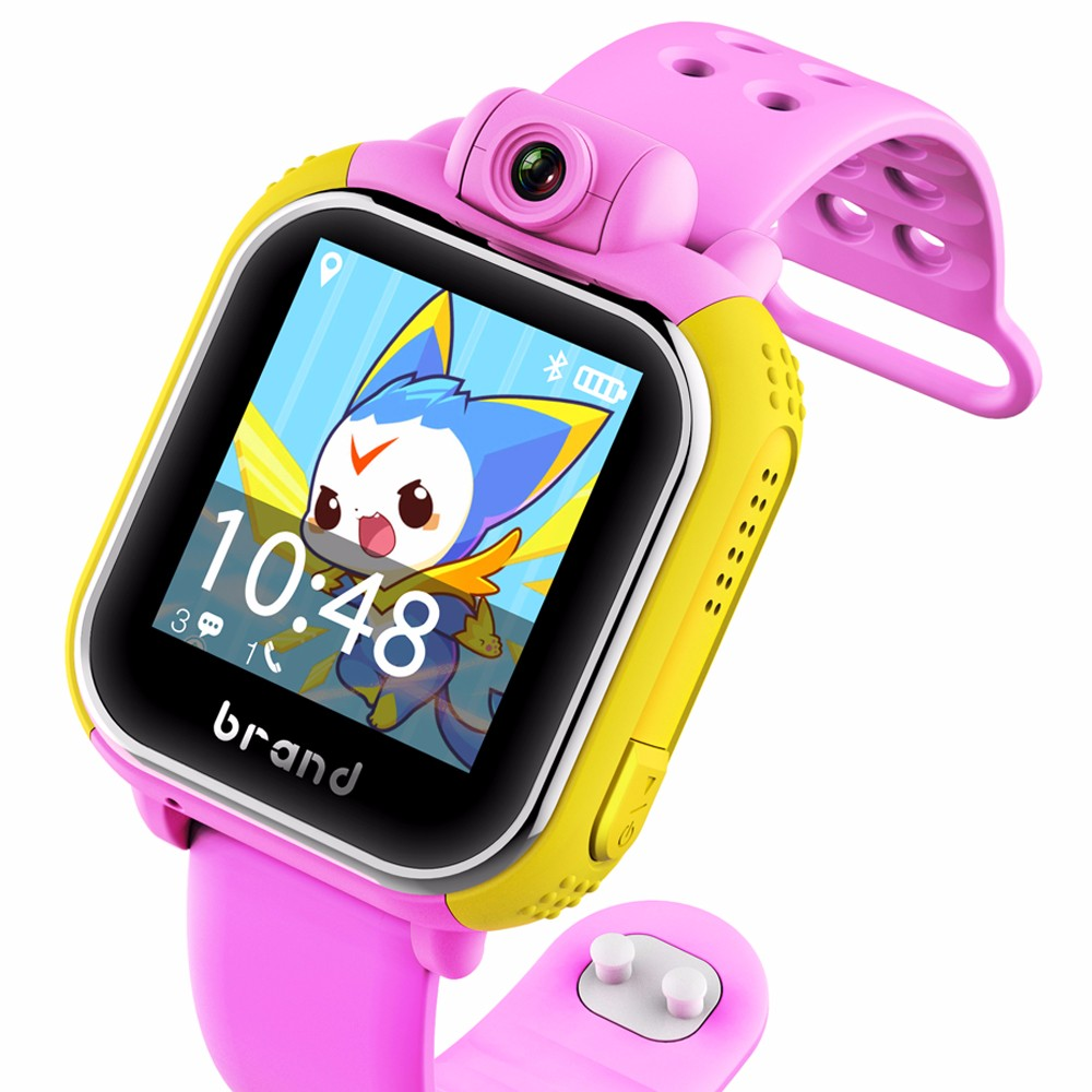 Plastic cool kids digital watches with second hand for children