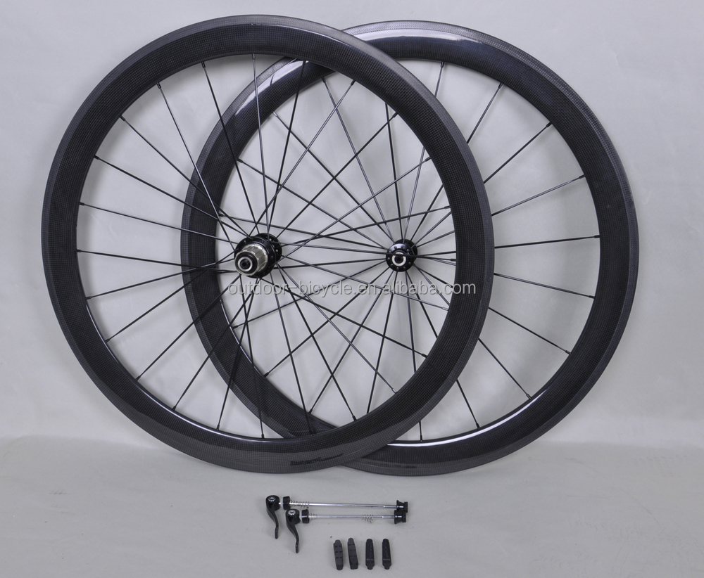 700C 21mm wide 50mm carbon clincher rims in 3k glossy finish, 38/50/60/88mm available