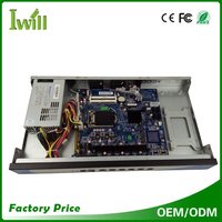 IWILL core i3 i5 i7 computer 6 intel Gbe lan port 1U rackmount server use for firewall and VPN