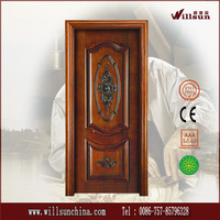 Original solid wood used wood exterior doors for sales