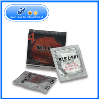 Nature Latex Strawberry Flavor Male Condom with OEM Package and Brand