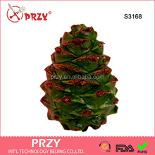 S3168 fashion pine cone shape handmake silicone soap molds