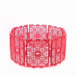 RoblionPet Family expenses DIY Plastic Folding Cheap Portable Pet Kennel
