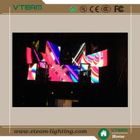 P10 transparent stage/club/disco led display screen