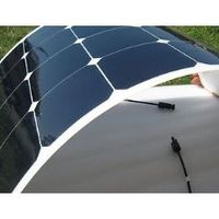 Flexible 10w MONO pv solar power panels with photovoltaic cells