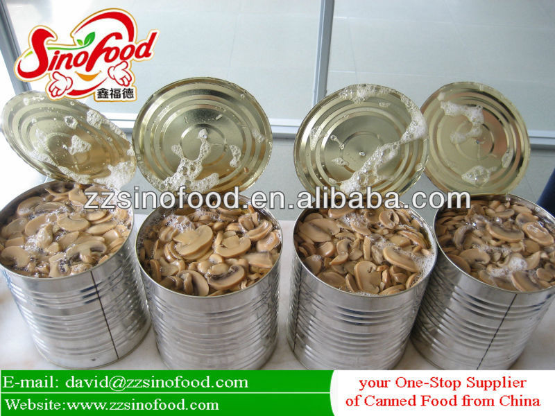 Canned Mushroom Whole Canned Food Price