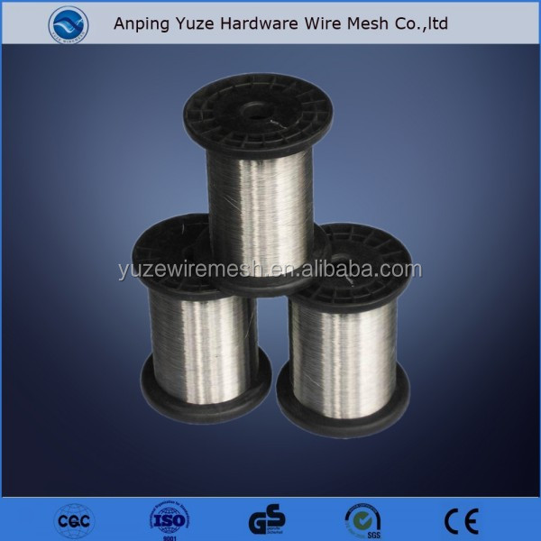 Hot dip Galvanized Stainless steel lashing wire high tensile