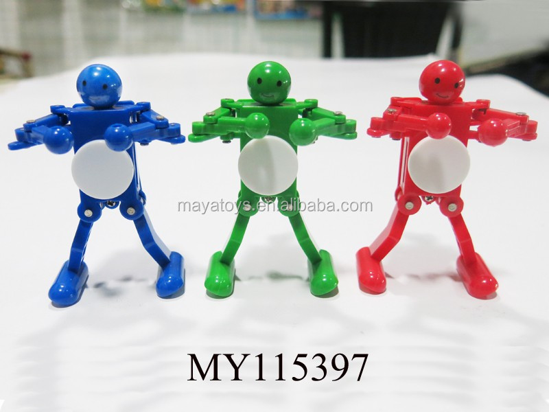Wholesale wind up robot toy ABS wind up dancing robot dancing robot toys