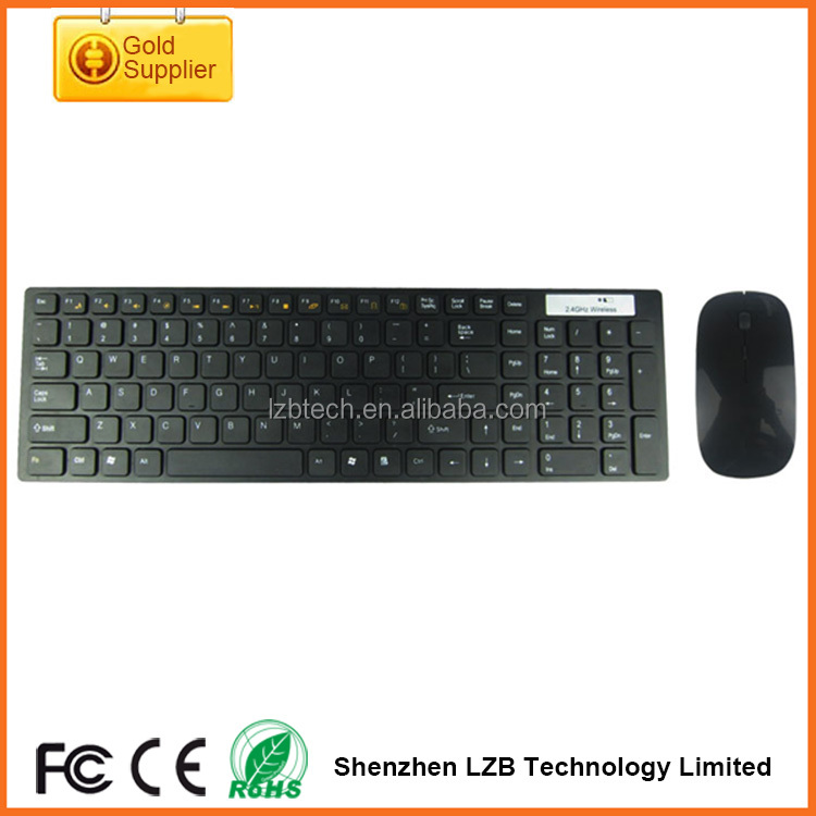 OEM logo Keyboard Mouse Factory Ultra Compact Wireless Keyboard and Mouse Combo for Windows and Android
