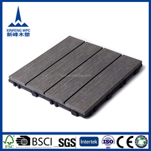 Durable waterproof WPC lowes outdoor tile floor tiles for sale