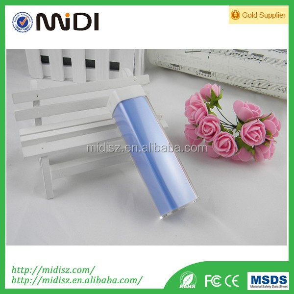 Shenzhen factory price 18650 li-polymer battery portable mini lipstick power bank 2600mah