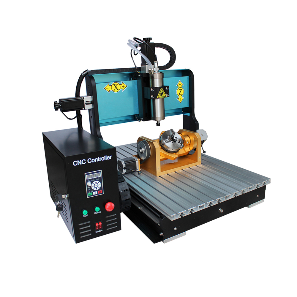 Mini Milling 5-axis Carving Machine Kit Price 6040 Cnc Router 5 Axis Cnc Machine