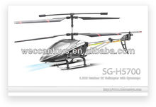 New products! 3CH alloy metal rc helicopter outdoor helicopter