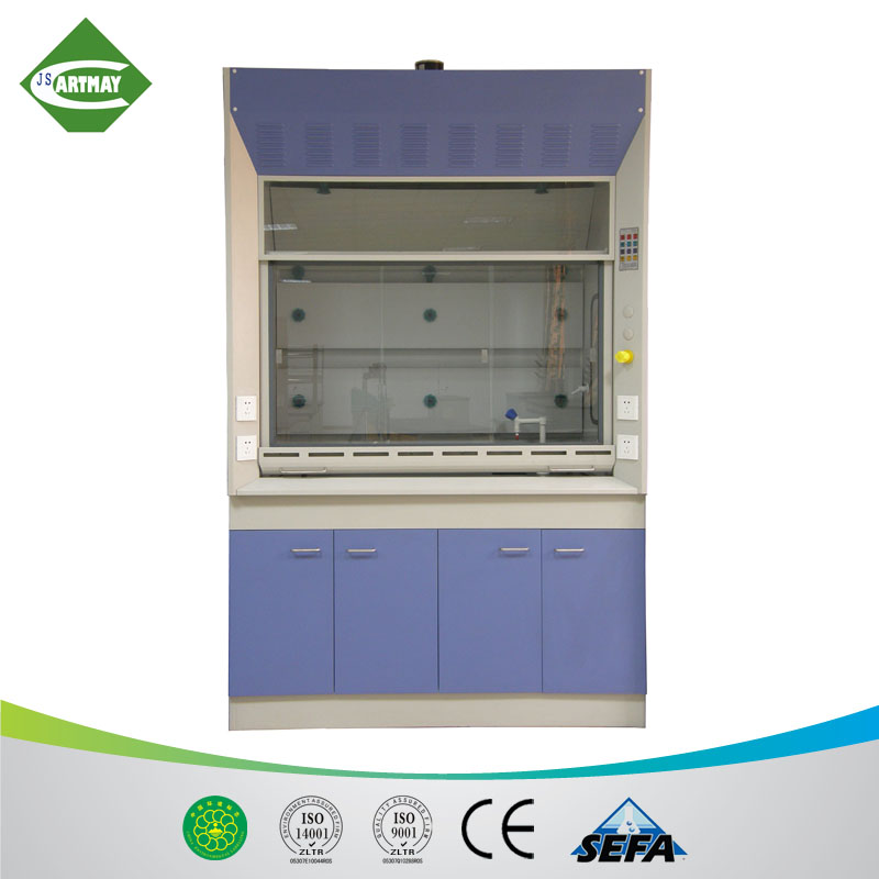 St-FH001 laboratory steel fume hood/fume cupboard with fan fume extraction hood