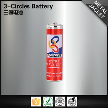 Super power eco-friendly R6P 1.5V um3 all kinds of aa battery