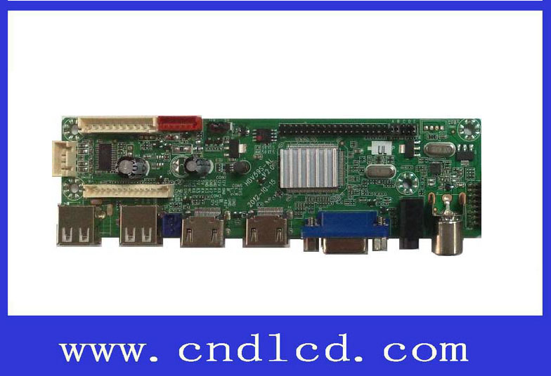 85inch LED LCD TV 1080P Universal Mainboard with 2USB 2HDMI VGA YPBPR