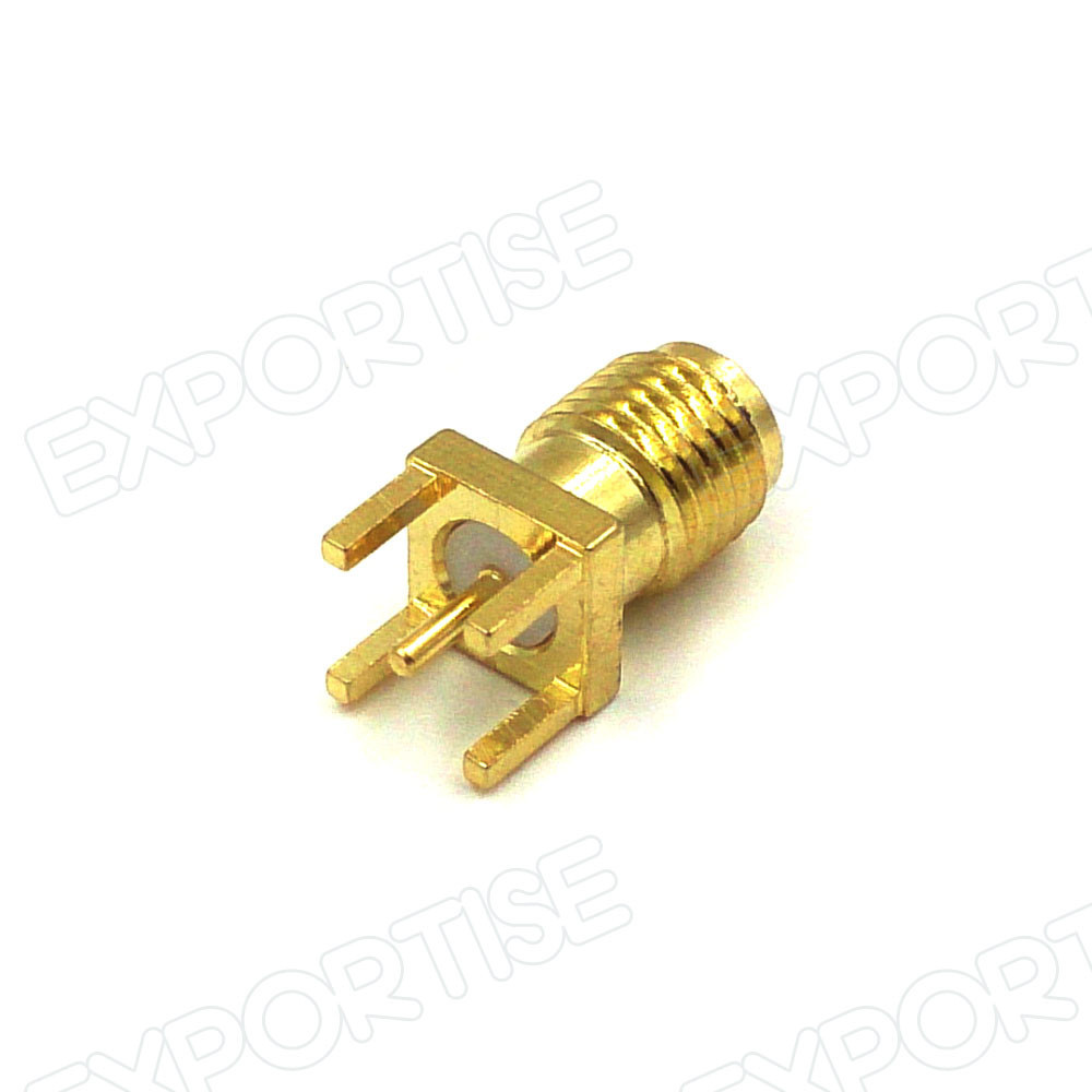 SMA KE SMA Female Jack PCB Mount Straight RF Coaxial Connector