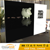 Indoor Slim Aluminous Frameless Free Standing Advertising Display Large Medium Size Tension Fabric Light Box