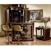 YB26 Luxury French Louis XV Style Golden Bar Furniture /European Classic Corner Mini Bar/Antique Bar Counter, Bar Stool, Wine Ca