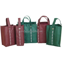 Fashionable professional strong paper wine bag