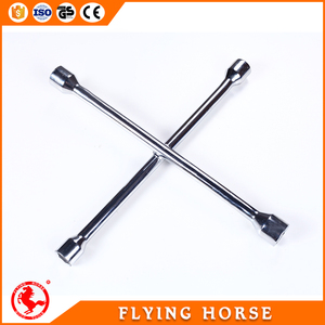 Carbon Steel Cross Rim Wrench X Shape Wrench for truck wheel