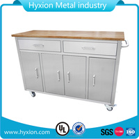 2017 New 55 inch tool roller cabinet stainless steel kitchen cart