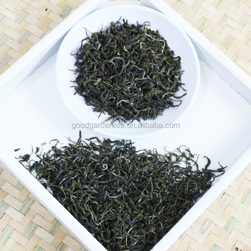 Chinese naturally pollution-free bulk green Mao Feng 1st tea and healthy tea