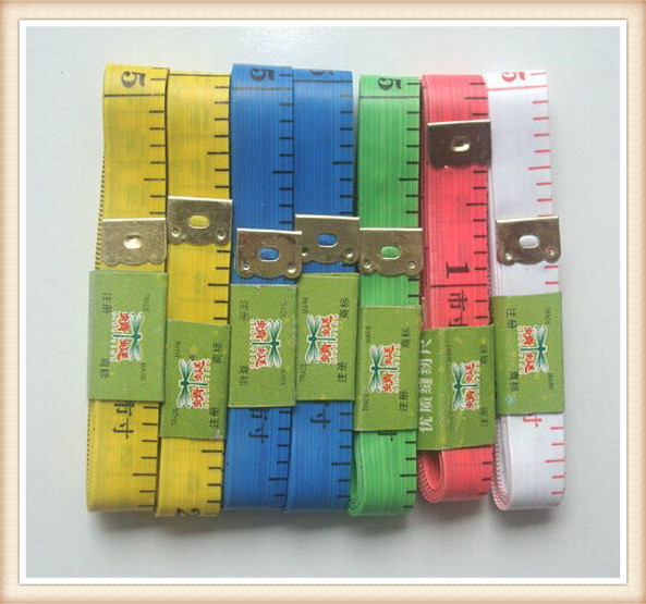 Body Measuring Ruler Sewing Tailor Tape Measure Soft Flat 60 Inch 1.5M Sewing Ruler Meter Sewing Measuring Tape