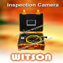 WITSON pipe inspection borescope waterproof camera with 12 LEDs