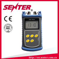 SENTER ST815 FIBER OPTIC LIGHT SOURCE FC Laser For Fiber Optic