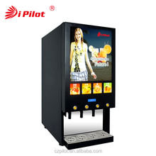 Cold BIB Concentrated Juice Dispenser with Dynamic Panel
