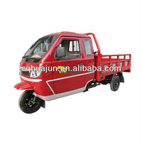 200cc 250cc closed cabin cargo tricycle&lifan tricycle engine