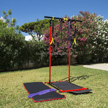 Home Gym Bodyweight pull-ups, dips, pushups workout Station