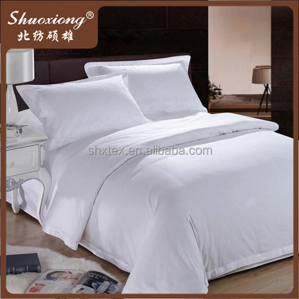 Luxury cotton T300 satin bedsheet used 5 star hotel bedding