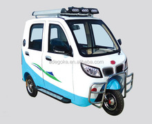 Newest HYBRID/ gasoline auto taxi passenger tricycle three wheel bajaj for Bangladesh, India,Afirca market for sale
