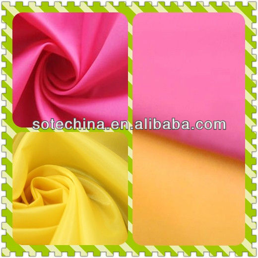 100% polyester lining / pocket fabric - taffeta polyester 190T - 2017 HOT SALE TAFFERA FABRIC