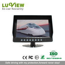 4 channel quad car monitor 9inch digital lcd monitor for lorry