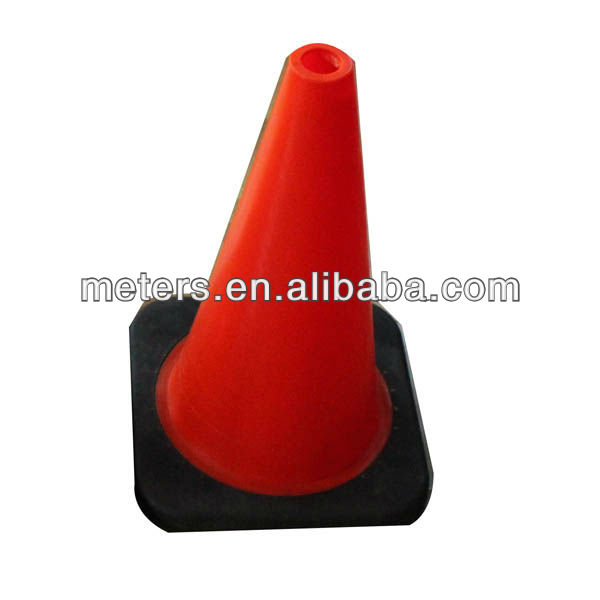 "Fluorescent Orange with 4"" Visible Reflective Standard Traffic Road Safety Cones"