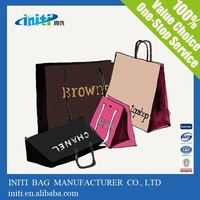 2015 new hot Quality fashion customized handbag shape paper gift bag