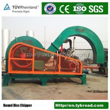 Forest using Industrial waste wood chipper log/branch shredder