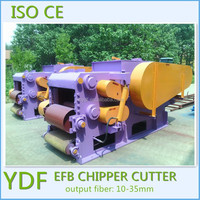 machine to make oil palm short fiber fuel