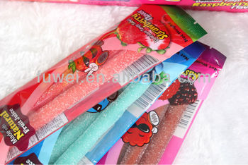 40G&60G Sour Straw gummy candy